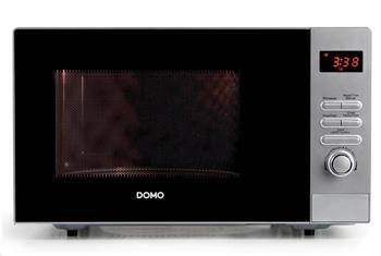DOMO DO2923 Mikrovlnná trouba 23l, stříbrná, 800W, LCD