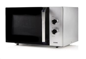DOMO DO3030 Mikrovlnná trouba retro, man.30l, 900W, talíř 31,5cm