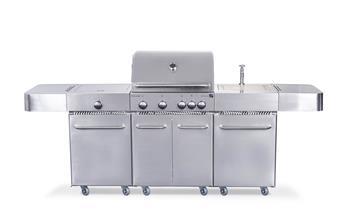 G21 Arizona BBQ kuchyně Premium line plynový gril 6 hořáků + redukční ventil
