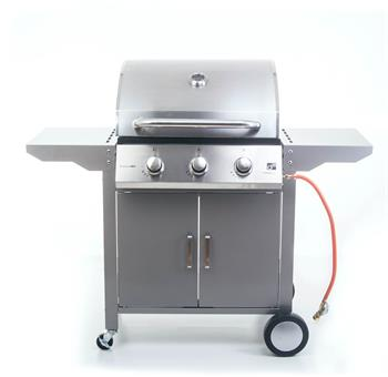 G21 Oklahoma BBQ Premium line plynový gril 3 hořáky + redukční ventil