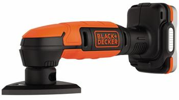 Black&Decker BDCDS12N Aku vibrační delta bruska 12V USB bez aku baterie