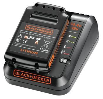 Black&Decker BDC1A15 Nabíječka 18V nabíjecí proud 1A + akumulátor 18V / 1,5Ah Li-ion