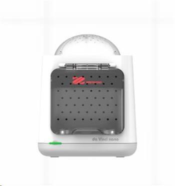 3D tiskárna XYZ da Vinci Nano (PLA,12x12x12cm,100-400 mikronů, USB 2.0,30 mm/s,70 mm/s)