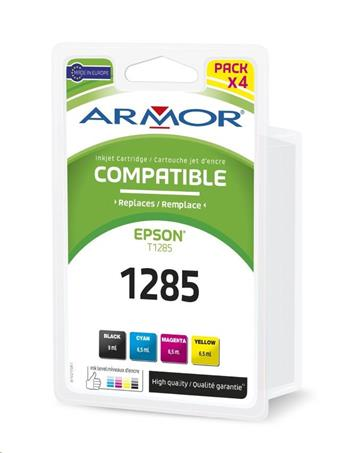 ARMOR cartridge pro EPSON Stylus S22, SX125 multipack Black + C/M/Y 1x9ml + 3x6,5ml