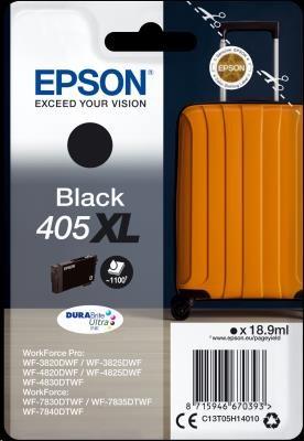 EPSON ink čer Singlepack Black 405XL Durabrite Ultra