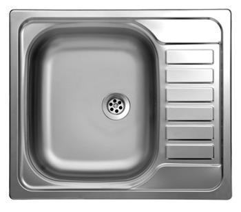 Sinks TRITON 580 V 0,6mm texturovaný
