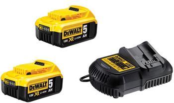 DeWALT DCB105P2-QW sada nabíječky a baterií