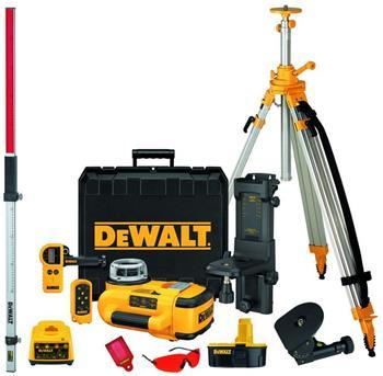 DeWALT DW079PKH velká sada rotačního laseru