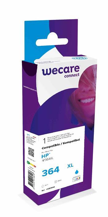 WECARE ARMOR cartridge pro HP Photosmart C5380, 5510, 5515, C6380 (CB323EE), modrá/cyan, 12ml, 900st