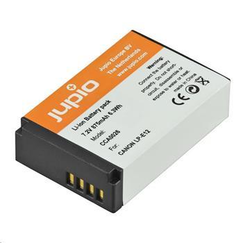 Baterie Jupio LP-E12 /NB-E12 875 mAh pro Canon