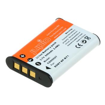 Baterie Jupio NP-BY1 pro Sony 640 mAh