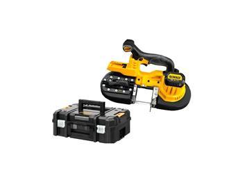 DEWALT DCS371NT 18V pásová pila kov bez baterií a nabíječky, v kufru