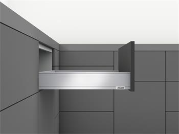 Blum Legrabox Tip-On + Blumotion sada PURE 500mm výška M bílá 40kg