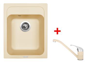 Sinks CLASSIC 400 Sahara + Sinks CAPRI 4 - 50 Sahara