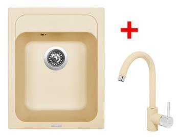 Sinks CLASSIC 400 Sahara + Sinks MIX 35 - 50 Sahara
