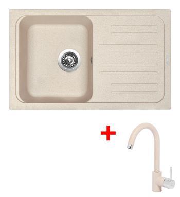 Sinks CLASSIC 740 Avena + Sinks MIX 35 - 29 Avena