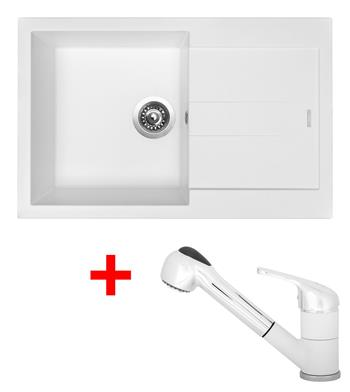 Sinks AMANDA 780 + Sinks CAPRI 4 S - 28 Milk