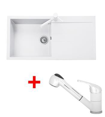 Sinks AMANDA 990 + Sinks CAPRI 4 S - 28 Milk