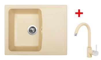 Sinks FORMA 610 Sahara + Sinks MIX 35 - 50 Sahara