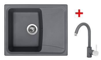 Sinks FORMA 610 Titanium + Sinks MIX 35 - 72 Titanium