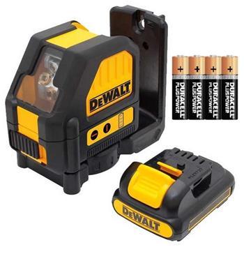 DeWALT DCE088LR-XJ červený křížový laser