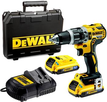 DeWALT DCD796D2B-QW aku příklepová vrtačka