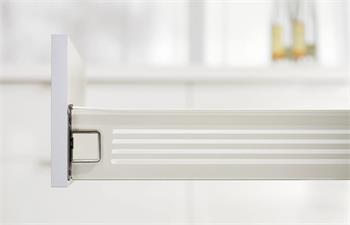 Blum 330M5000PC Metabox bílý plný výsuv bez mont. čepů.