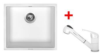 Sinks FRAME 457 + Sinks CAPRI 4 S - 28 Milk