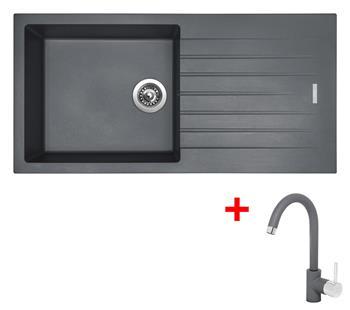 Sinks PERFECTO 1000 Titanium + Sinks MIX 35 - 72 Titanium