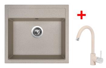 Sinks SOLO 560 Avena + Sinks MIX 35 - 29 Avena