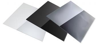 Sinks přípravná deska - sklo bílé