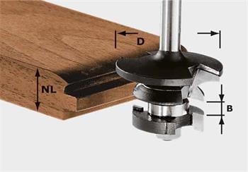 Festool HW S8 D43/21 A/KL Kontraprofilová fréza pro pero HW, stopka 8 mm (491130)