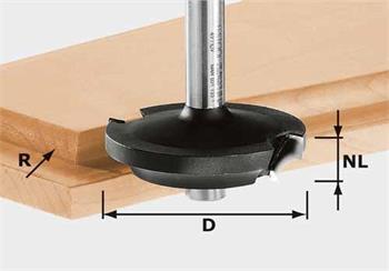 Festool HW D42,7/13/R6 Zplošťovací fréza HW, stopka 8 mm (491138)