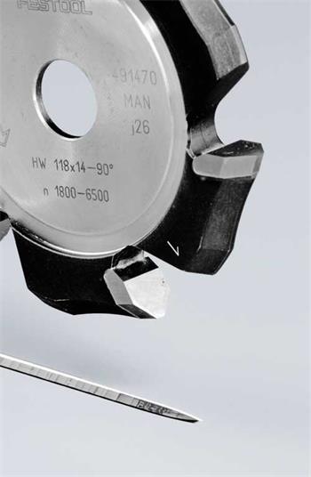 Festool HW 118x14-90°/Alu Drážkovací fréza ve tvaru V (491470)
