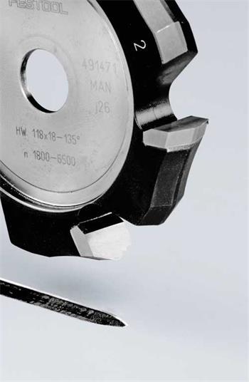 Festool HW 118x18-135°/Alu Drážkovací fréza ve tvaru V (491471)