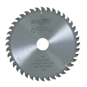 Mafell 120 x 1,2/1,8 x 20 mm, Z 40, FZ/TR Pilový kotouč (092559)