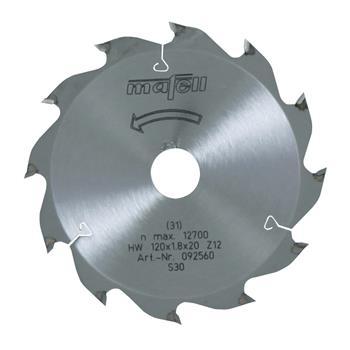 Mafell 120 x 1,2/1,8 x 20 mm, Z 12, WZ Pilový kotouč (092560)