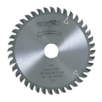 Mafell 120 x 1,2/1,8 x 20 mm, Z 40, TR Pilový kotouč (092578)