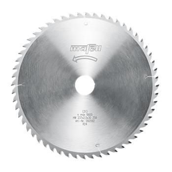 Mafell 237 x 1,8/2,5 x 30 mm, Z 56, WZ Pilový kotouč (092592)
