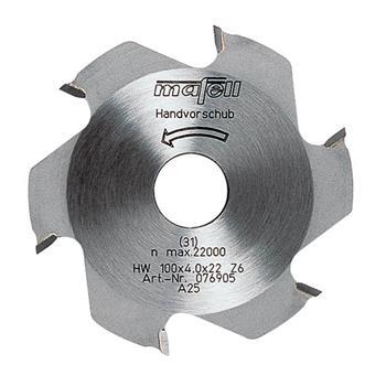 Mafell 100 x 4 x 22 mm, Z 6 Kotoučová fréza (076905)