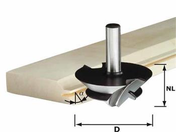Festool HW D 64/27 S12 Fréza pro lepené spoje HW stopka 12 mm (492709)