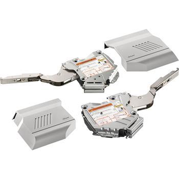 Blum Aventos HK-S silný 20K2E00.02 + krytky šedé + čelní kování SET Průmysl