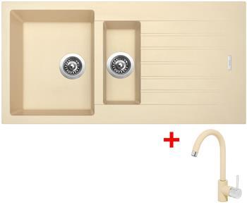 Sinks PERFECTO 1000.1 Sahara + Sinks MIX 35 - 50 Sahara