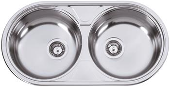 Sinks DUETO 847 V 0,6mm matný