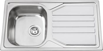 Sinks OKIO 860 XL V 0,6mm leštěný