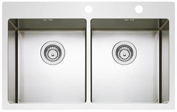 Sinks BOXER 755 DUO RO 1,2mm