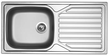 Sinks OKIO 1000 XXL V 0,6mm leštěný