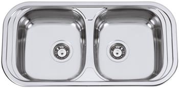 Sinks SEVILLA 860 DUO M 0,6mm matný