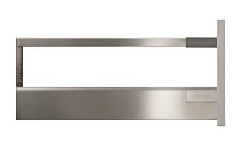 Blum Antaro sada Blumotion 500mm 65kg nerez výška D s relingem