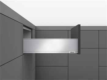 Blum Legrabox Tip-On + Blumotion sada PURE 500mm výška K bílá 70kg